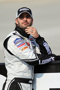 Johnson Is Out of the Dover Gates Swinging, Wins Pole