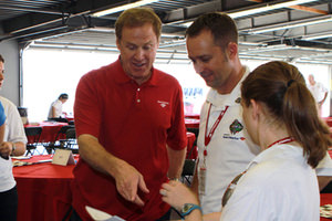 NASCAR RnR Exclusive Rusty Wallace NASCAR Day Interview
