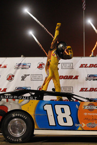 Kyle Busch wins Prelude to the Dream, crosses another event off his 'bucket list'
