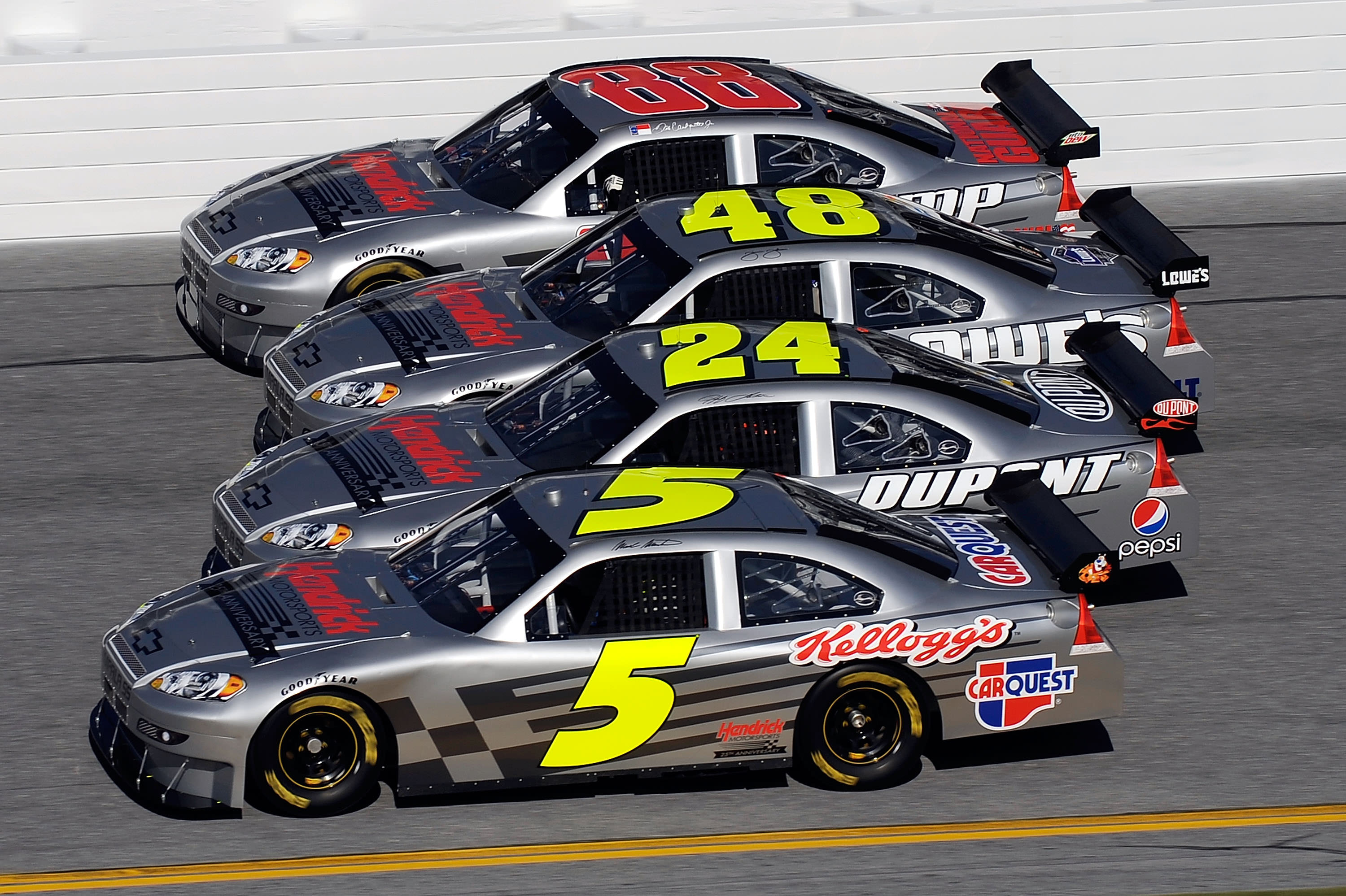 Is There More to the Hendrick and Stewart-Haas Victories Than Meets the Eye?