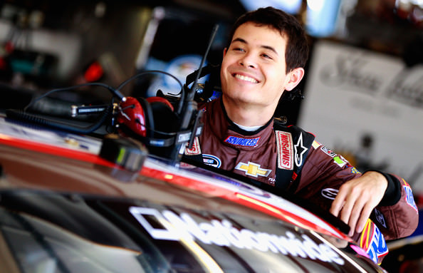 First NASCAR Sprint Pole for Larson