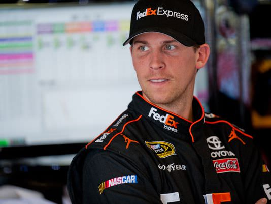 Denny Hamlin Captures Top Spot Leading JGR to Next Round