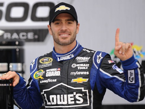 Penalty Against Jimmie Johnson Repealed