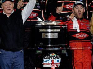 Winner of Nascar in 2018.