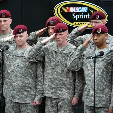 Military Connection Celebrated at NASCAR Coca-Cola 600