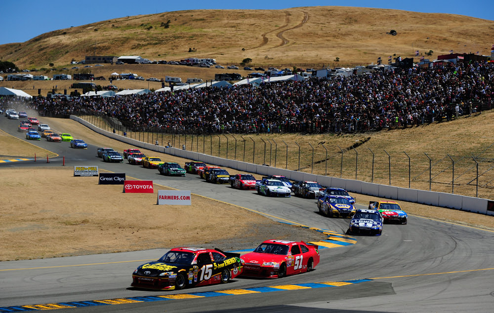 NASCAR's Sonoma Raceway in Extended Sponsorship Deal with Toyota