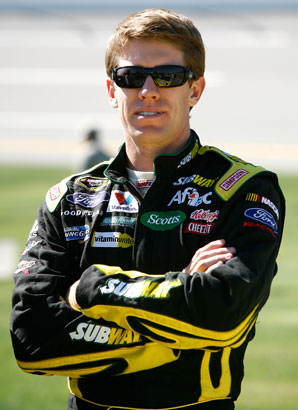 Carl Edwards Wins First Sprint Championship Road Race at Somona