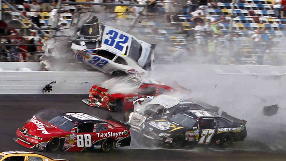 NASCAR Bans Drivers From Leaving Cars